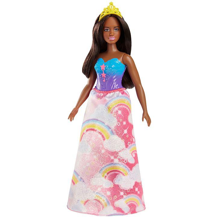 3723fa1d95 Barbie Dreamtopia hercegnő szivárványos ruhában