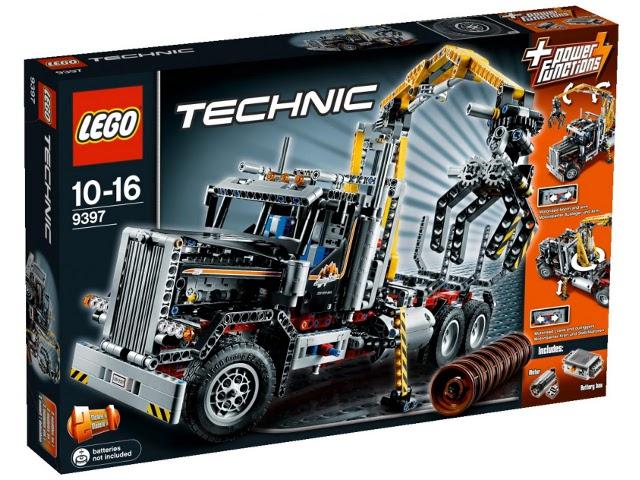 Lego 9397 Rönkszállító teherautó