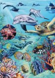 Heye puzzle 500 db - Tropical Waters, Flora & Fauna