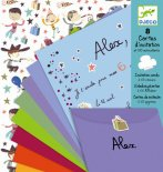 Djeco - Invitation letter-cards for boys