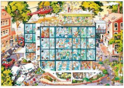 Heye puzzle 2000 db - Emergency Room, Loup