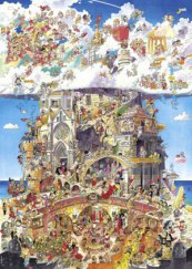 Heye puzzle 1500 db - Heaven and Hell, Prades