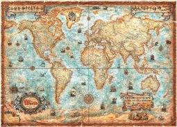 Heye puzzle 3000 db - The World