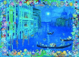 Heye puzzle 1000 db - Cats in Venice, Hartmann