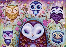 Heye puzzle 1000 db - Great Big Owl