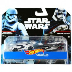 Hot Wheels Star Wars karakter autók 2-es  first order storm. & captain phasma