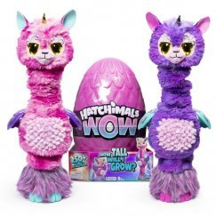 Hatchimals HatchiWOW interaktív tojás