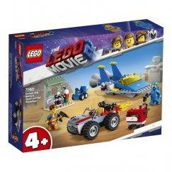 LEGO 70821 Emmet és Benny Építő és javító műhelye! 348a2fecf0